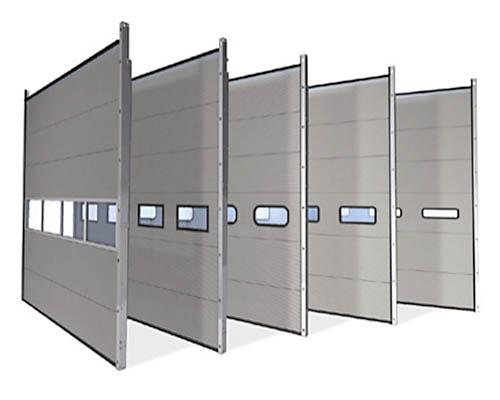 Промышленные сегментные ворота